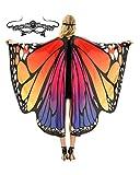 Butterfly Wings Costume Adult Halloween Butterfly Cape Costume Women Festival
