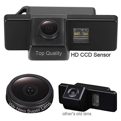 Vue Arrière de Voiture de Vision Camera de Recul Voiture étanche Lentille de 18mm pour Nissan AQSHQAI/X-Trail/Geniss/Navara/Pathfinder 2005-2011/Dualis/Citroen C4/C5/C-Triomphe/C-Quatre Hatchback