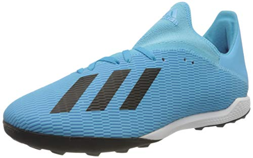adidas Mens F35375_46 2/3 Turf Football Trainers, Blue, EU