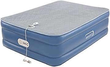 AeroBed Air Mattress with Built in Pump   Air Bed with Quilted Foam Topper