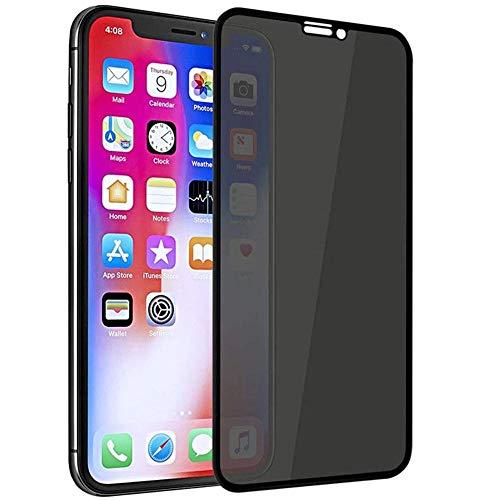 3 piezas Protector de pantalla de vidrio templado de privacidad, para iPhone 12 11 Pro XS MAX X XR Vidrio antiespía, para iPhone 6s 7 8 Plus-Para iPhone12 Pro Max
