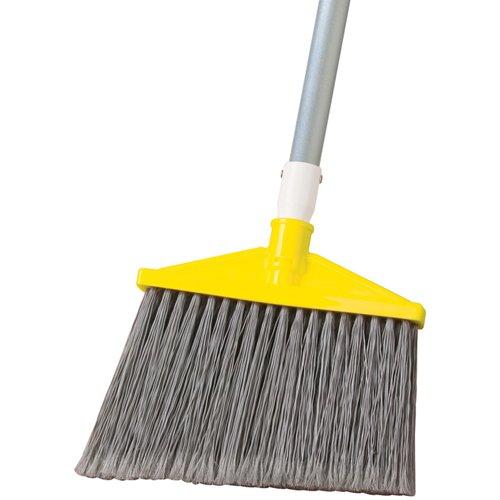 Rubbermaid 6385 Angle Broom with Aluminum Handle (ea)