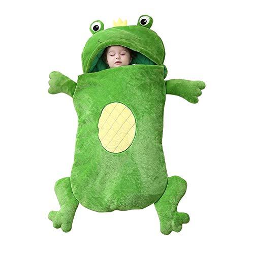 Los niños juegan la almohada y el saco de dormir, 2 en 1 almohada de la siesta de dibujos animados de dibujos animados, saco de dormir de una pieza de pijamas, bolsa de dormir divertida sorpresa de be