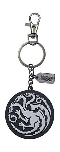 Game of Thrones Llavero logo de metal Targaryen, color...