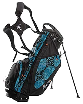 Frogger Golf Function Hybrid Carry Stand Bag  Blue/Black