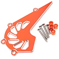 B Blesiya 1個/個オレンジモーターサイクフロントガードチェーンカバープロテアにある125200