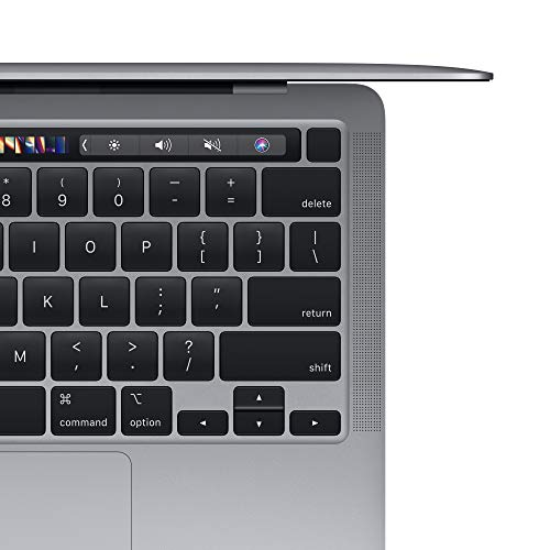 New Apple MacBook Pro with Apple M1 Chip (13-inch, 8GB RAM, 256GB SSD Storage) - Space Gray (Latest Model)
