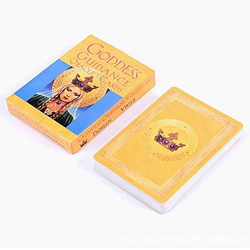 LTGABA Déesse Oracle Cartes De Tarot, Le Destin Jeux De Société D'orientation Divination Divertissement Carte Tarot Jeu, Tarot Party Playing Game Board Party Game Card Game