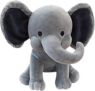 Plush toys, 25cm lovely Plush Elephant Soft Elephant Doll Baby Toy Elephant Pillow Plush Toys Kids Stuffed Doll plush toys...