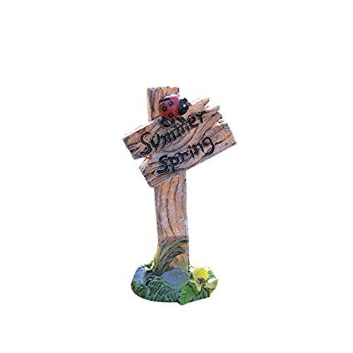 N A Miniature muschio micro paesaggio strada segno modellazione gioielli creativo fai da te...