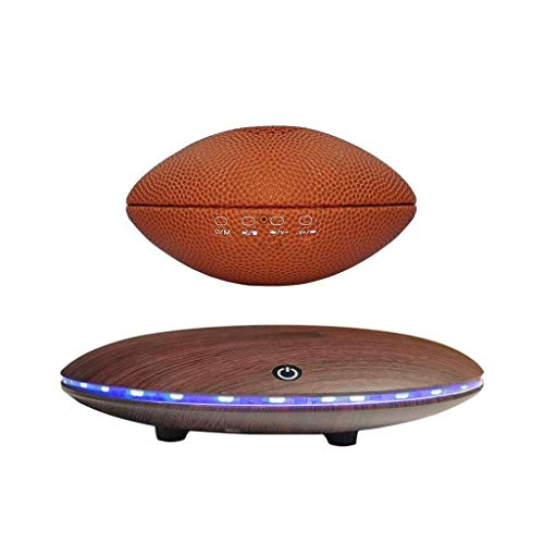 NANSHAN -WB46-A1 TWS 360-Grad Automatische Rotation Magnetschweben Rugby Rugby Bluetooth-Lautsprecher Mit LED-bunten Lichter Für Berührung Und Freisprecheinrichtungen Speaker