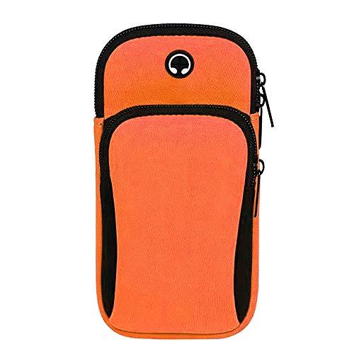 Flytise Multifunctional Phone Arm Band Gym Phone Holder Phone Arm Case Running Band Outdoor Running Bag Waterproof Riding Bag Women Men Sport Bag Arm Bag Cellphone Pouch Wrist Bag Fitness Equipment