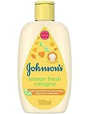 Johnson's Baby Cologne, Lemon Fresh, 100ml