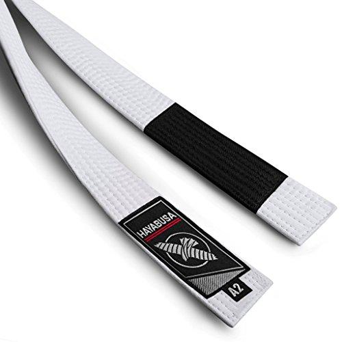 Hayabusa Adult Jiu Jitsu Belt (New) - White, A2