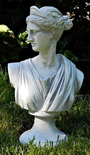 Beton Figur Skulptur Statue Büste Paolina von Canova H 31 cm Dekofigur und Gartenskulptur