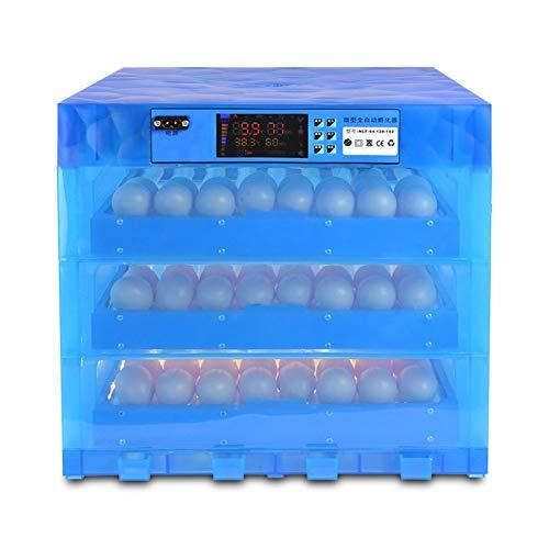 ZCXBHD Incubadora de Huevos Automático Torneado 196 Digital Huevos Temperatura Humedad Controlar Hatcher por Granja Pollos Patos Ganso Aves