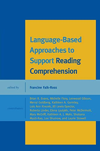Compare Textbook Prices for Language-Based Approaches to Support Reading Comprehension  ISBN 9781442229884 by Falk-Ross Pace University, Francine
