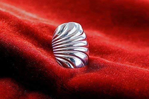Ring Zuckerlöffel-Schmuck aus Silberbesteck R73