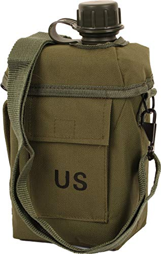 Patrol Canteen 2L with Case and Strap-Olive by Mil-Tec