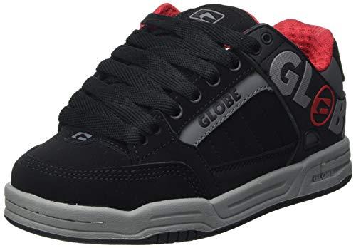 Globe Unisex Tilt-Kids Sneaker, Black Carbon Red, 33.5 EU /2 US