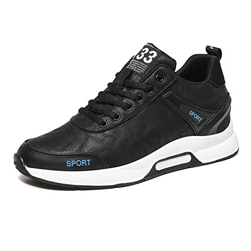 Zapatos Con Alzas Para Hombre Zapatos De Punto Voladores Zapatillas De Deporte Altura -6 Cm Más Grande