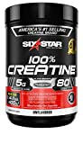 Creatine Monohydrate Powder   Six Star Elite   Post Workout Recovery Drink   100% Micronized Creatine Powder   Muscle Recovery + Muscle Builder for Men & Women   Mass Gainer   Unflavored (80 Servings)