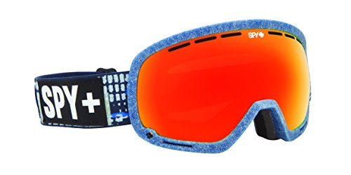 Spy Snow Goggle Marshall Louie Vito-Flight Strap (2014), Bronze W/Red Spectra, One Size
