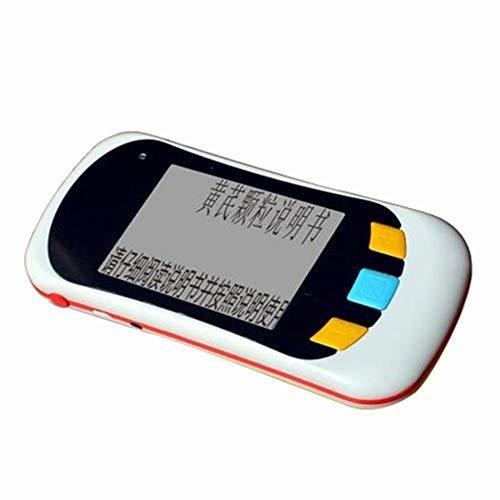 JL Tragbar 3.5 Zoll Digital Aid Lupe Elektronische Lesehilfe Mit 2X-32X Zoom Mehrere 12 Arten Farbmodus Für Sehbehinderte Farbenblindheit