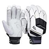 KOOKABURRA Batting Gloves 2020 Shadow Pro-Guantes de bateo (Talla Grande, Unisex Adulto, Blanco, Over Sized Adult Right Hand