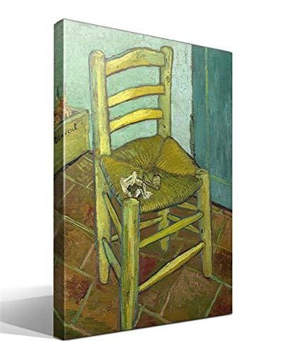 Cuadro Canvas Silla de Van Gogh de Vincent Willem Van Gogh