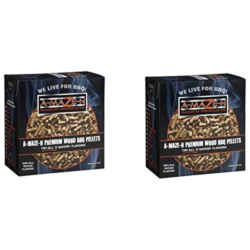 Read About A-MAZE-N - Hickory Pellets - 2 lbs - 2 Pack