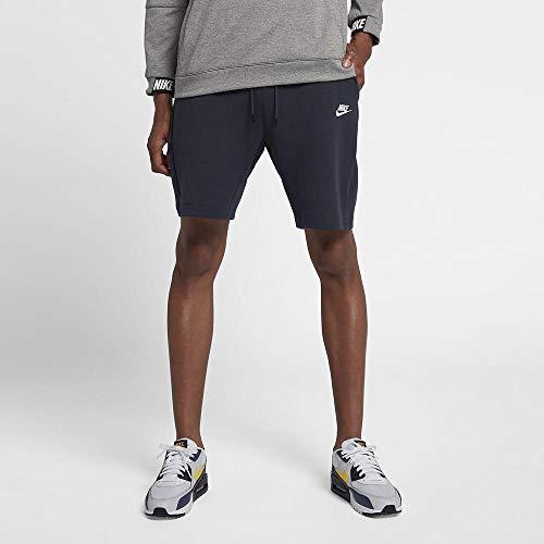 Nike Herren M NSW TCH FLC Short Sport, Obsidian/(White), S