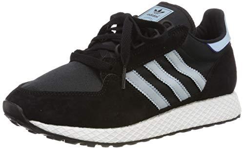 adidas Forest Grove W, Zapatillas de Gimnasia Mujer, Negro (Core Black/Ash Grey S18/Chalk White Core Black/Ash Grey S18/Chalk White), 38 EU
