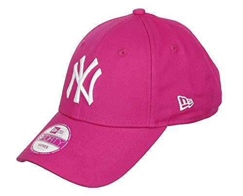 New Era Fashion ESS 940 Gorra, Mujer, Rosa/Blanco, Talla Única