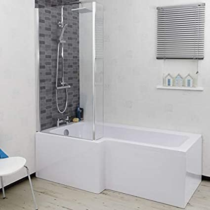 gaixample.org Soaking Baths DIY & Tools 1500mm RH L Shaped Shower ...