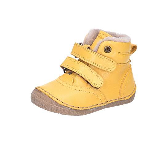 Froddo Unisex Baby G2110078 Stiefel, Gelb, 25 EU Weit