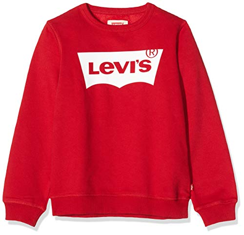 Levi's Kids Jungen Pullover Lvb Batwing Crewneck Levis Red/ White 14 Jahre