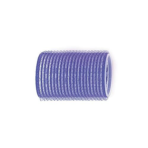 Sibel - Bigoudis Adhésif 40 Mm Bleu