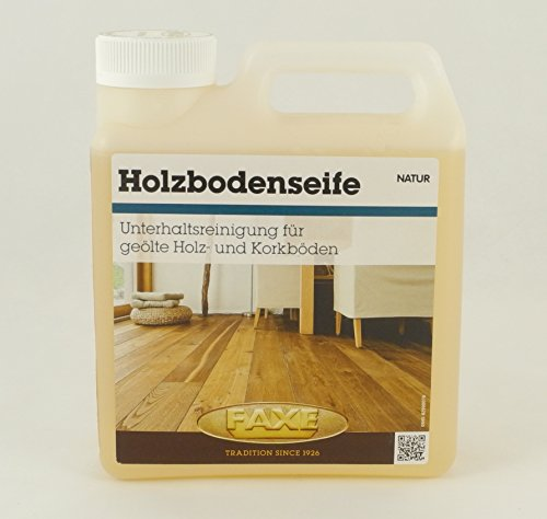 Faxe Holzbodenseife 1L natur Fußboden Reiniger Holzboden Holz Kork