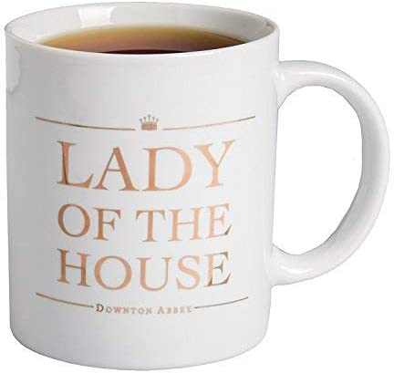 Downton Abbey Lady of Ranking TOP13 the Mug 11oz Coffee House specialty shop Ceramic