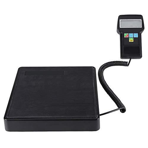 KAUTO Báscula electrónica de Carga de refrigerante, electrónica de refrigeración Calibración de precisión de Peso Báscula de calibración de Peso Estuche para Aire Acondicionado 220 LB / 100 kg