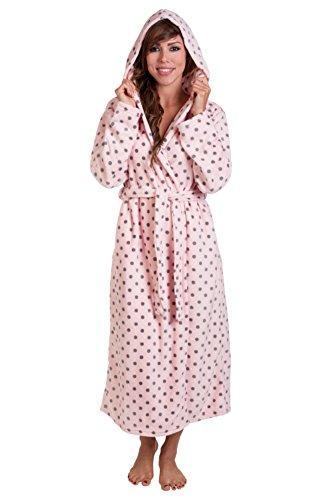 Hoodie Robe Plush Hooded Robe Spa Bathrobe Hoody Robe Long Robe