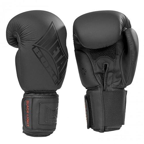 Metal Boxhandschuhe Super Training Training Boxen Erwachsene Unisex Schwarz, 16 oz