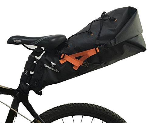 Discover Bargain Moosetreks Seatpost Bag | Lightweight Rackless Mounting Bikepacking System | Waterp...