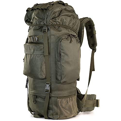 Armybag® Trekkingrucksack | Outdoor Rucksack 65 Liter und YKK Zipper | Reiserucksack für...
