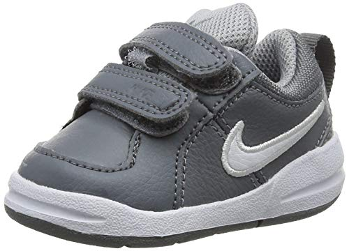 Nike Unisex-Kinder Pico 4 (TDV) Lauflernschuhe, Grau (Cool Grey/White/Wolf Grey 022), 21 EU