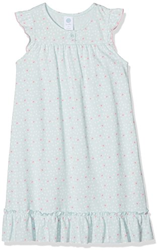 Sanetta Mädchen 232062 Nachthemd, Blau (Ice Crystal 5539), 104