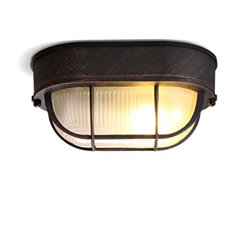 Plafón de Techo Lámpara de techo Lámpara de techo E27 Estilo retro industrial Lámpara de techo negra for el pasillo Sala de estudio Dormitorio Vestidor Lámpara de mesa Lámpara colgante Luz de Techo