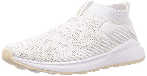 Reebok Damen Ever Road DMX Slip On 2 Sneaker, Multicolor (Weiss/Stucco/Weiss), 39 EU