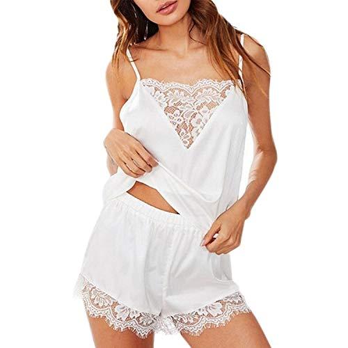 CCTor Damen-Schlafanzug mit süßem Avocado-Buchstaben-Druck, kurzärmelig, lockere...